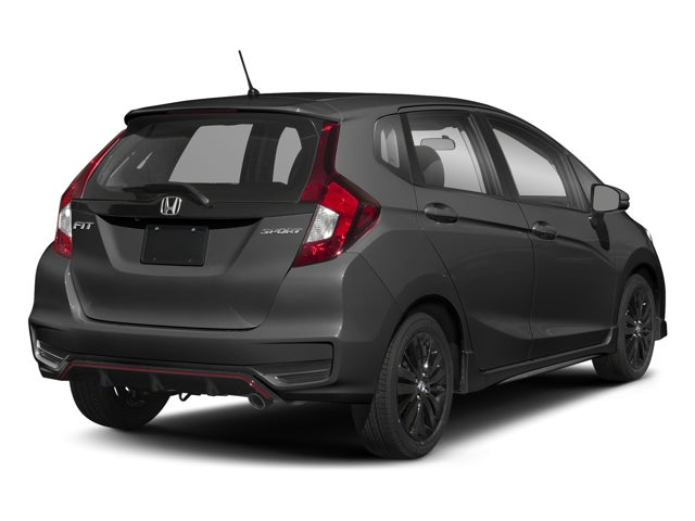 2018 Honda Fit Sport Cvt Honda Dealer Serving